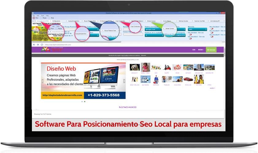 software para marketing digital y seo local en google